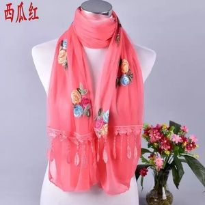 Floral Flowers Scarf